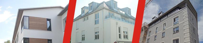 Referenzen - Mehrfamilienhäuser
